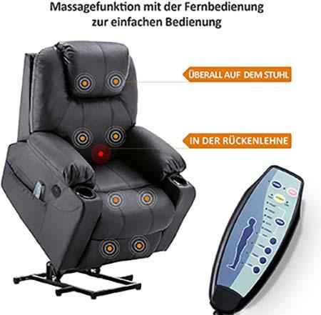 fauteuil massant et siège massant