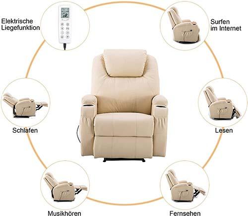 MCombo fauteuil massant électrique