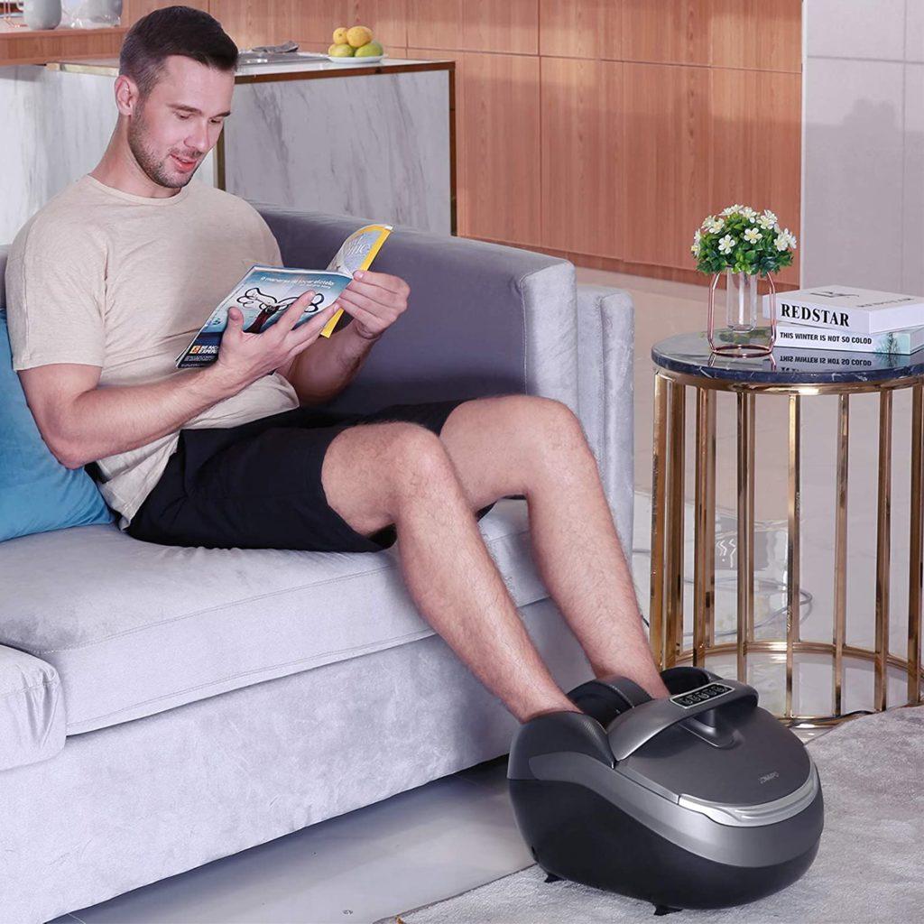 appareil massage pour les pieds