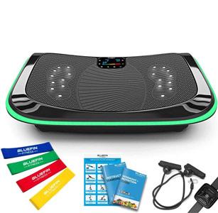Bluefin Fitness plateforme vibrante et oscillante 4d