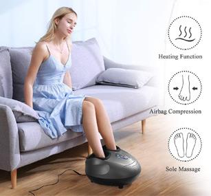 marnur appareil massage pied masseur shiatsu chauffant